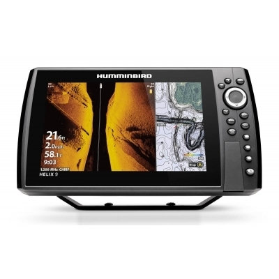Graph Glass  HUMMINBIRD Helix 9 G3N